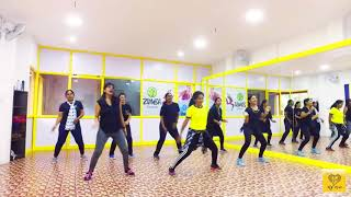 Easy fitness routine for Tamil song | Gulebha song | fitness dance | weight loss | women's fitness