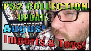 PS2 Collection Update: August 2018 Unreleased Games, Action Figures, Imports & A New Collection List
