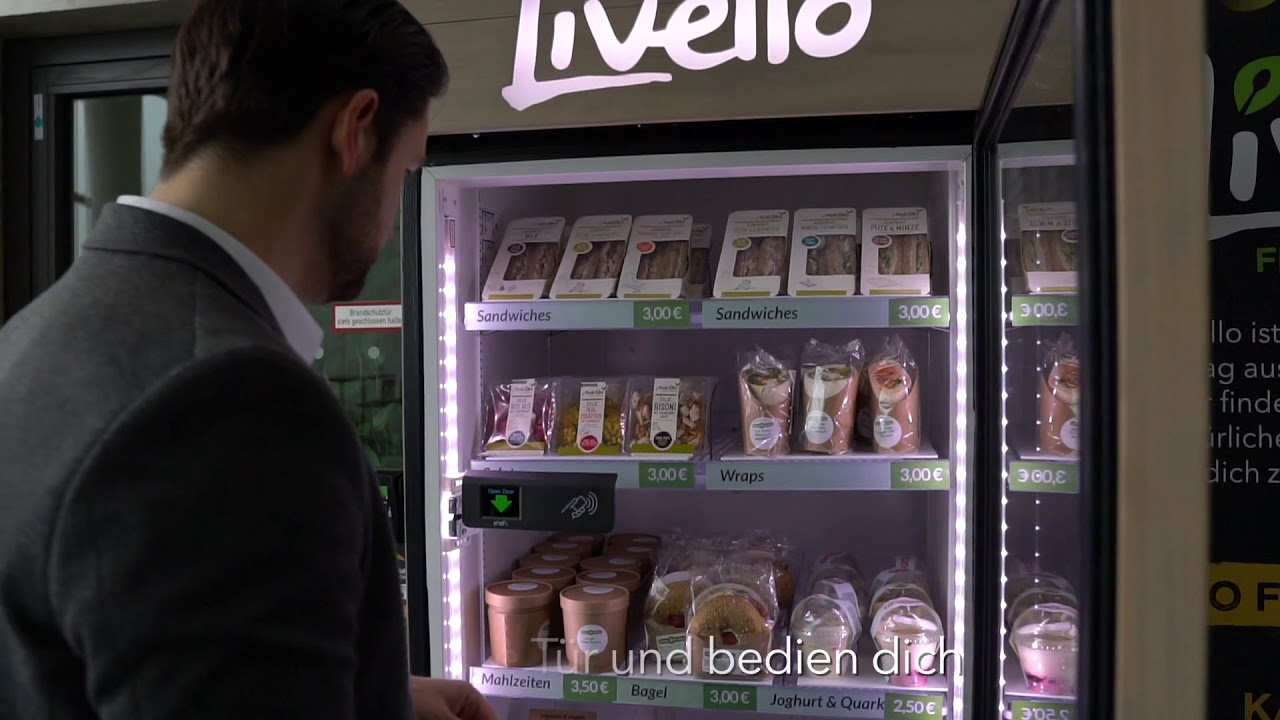 Livello Kühlschrank - Der Einkauf - YouTube
