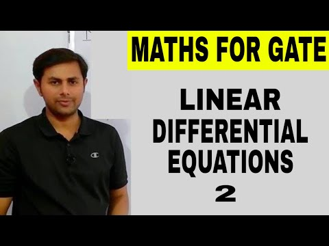 5. Linear differential equations with variable coefficients | Mathematical methods of Physics