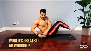Week 4 - World's Greatest Ab Workout (NO EQUIPMENT! RAW AND UNCUT!)