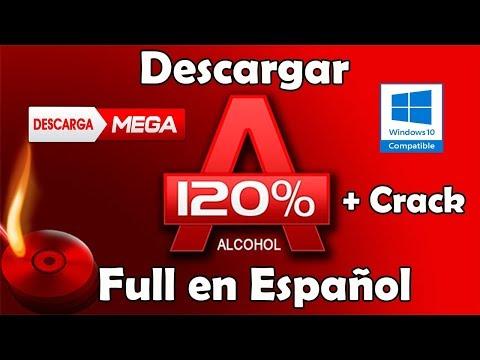Descargar e Instalar Alcohol 120% Full Español 2017 para Windows 10,8.1,8,7,xp (1 Link Mega)