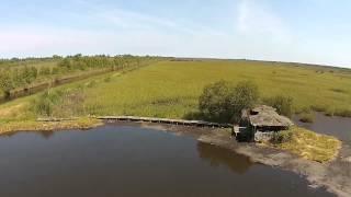 marais et tonnes de Carcans Maubuisson 33. drone65200