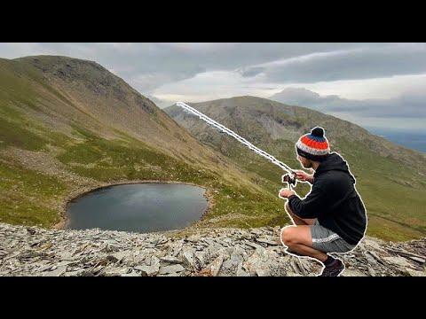 Lake District Fishing - BLIND TARN (Mountain Trout)