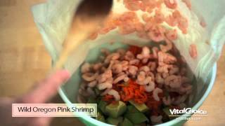 Wild Oregon Pink Shrimp Salad