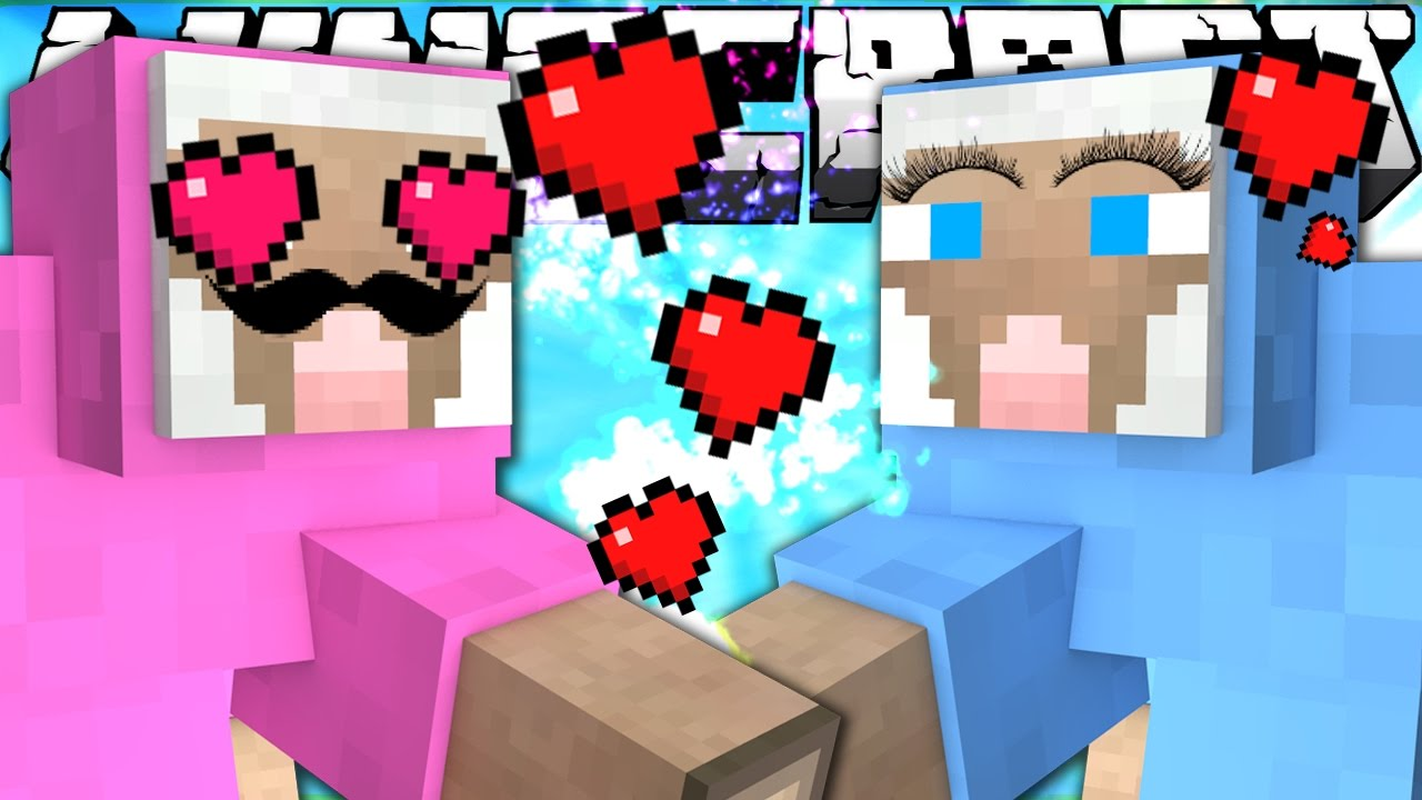 minecraft if pink sheep had a girlfriend part 1 youtube