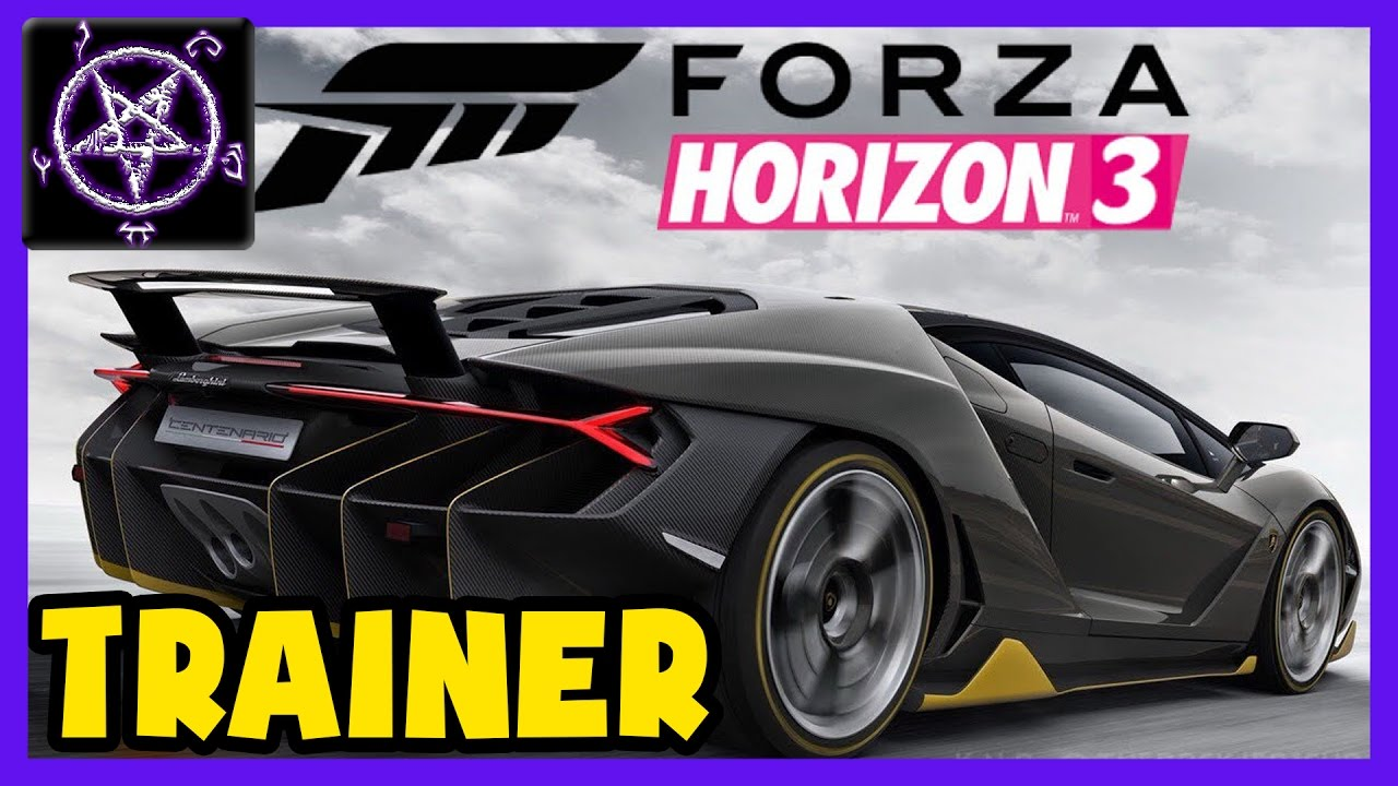 Forza Horizon 3 - TRAINER / CHEATS - SkillPoints / Teleport / Always 1st
