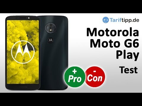 Moto G6 Play | Test Deutsch