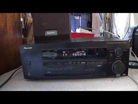 how work Pioneer Audio/Video multi channel receiver VSX-D511