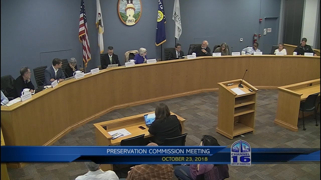 Preservation Commission Meeting 10/23/2018