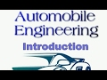 Introduction to Automobile Engineering in Telugu