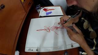 #Pinstriping Scroll Design 4