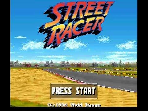 SNES Longplay [225] Street Racer