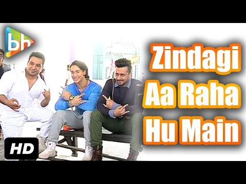 Exclusive On Location Of 'Zindagi Aa Raha Hu Main' With Tiger,Atif & Ahmed
