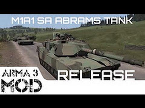 Мод M1A1 SA Abrams и FV4034 Challenger 2 для ARMA 3