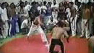 I encontro nacional de capoeira de Brasilia-DF-1990