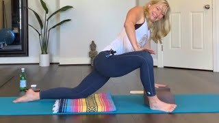 Restorative Yoga E36 Part 2 - Hip, Inner Thigh, Hamstring Focus (f012221)