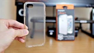 Spigen Ultra Hybrid iPhone 7 Case Review (Crystal Clear)