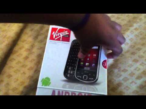 Samsung Intercept Unboxing (Virgin Mobile)