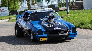 Tuner & Classic cars leaving a Carshow | Lower Level Tuning & Oldieday 2019