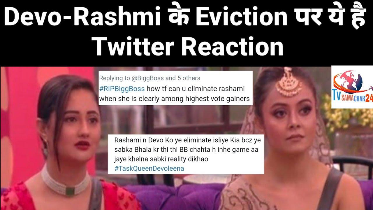 Twitter Lashes Out At Bigg Boss For Rashmi Desai Devoleena Bhattacharjee Eviction Bigg Boss 13