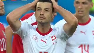 Résumé Suisse vs Serbie 2 1  Tous Les Buts  2018