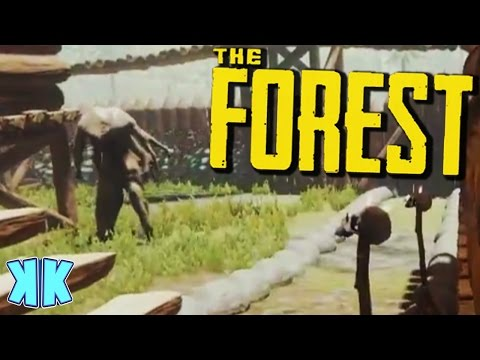 The Forest | SOMETHING IS IN MY BASE! | Update 0.47 Gameplay | #55