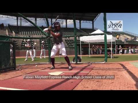 Fabian Mayfield Cypress Ranch High School Class of 2020