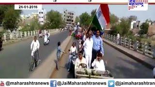 Gangster Santosh Ambekar rally in Nagpur