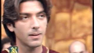 Juegos de la Corona invitado Gustavo Guillen Programa VideoMatch 1998
