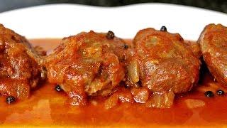 Carrilladas de cerdo Ibérico en salsa