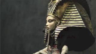 """Ancient Egyptian Mantra """"A Ka Dua"""" with pictures of Anubis"""