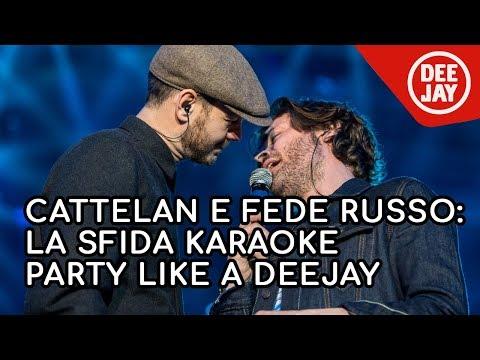 La sfida karaoke di Alessandro Cattelan e Fede Russo  - Party Like a Deejay / Bologna 2018