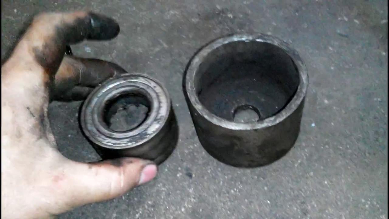 Замена сайлентблоков передней балки ваз 2110-12, Приора