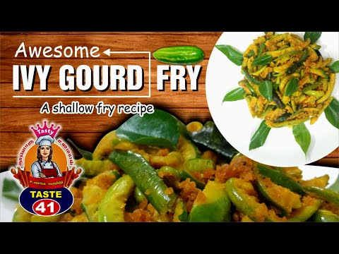 சத்தான-கோவைக்காய்-வறுவல்-|-ivy-gourd-healthy-fry-|-kovaikkai-fry
