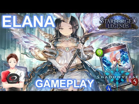 This should be good vs Midrange (Elana Haven)   Gameplay   SFL Oct Nerf【Shadowverse】