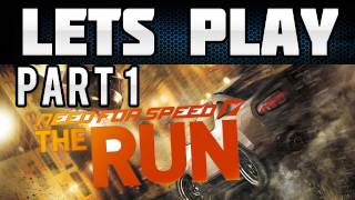 Lets Play Need for Speed The Run Part 1 (PS3/HD/German) - Einleitung + Etappe 1