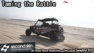 Taming The Off Road Rattle - Second Skin Damplifier Pro vs. Foil Backed Styrofoam on Metal Doors