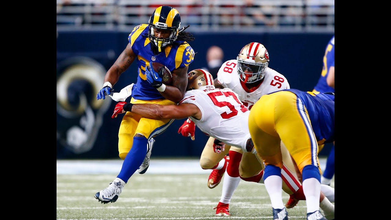 Top 5 Runs (Week 8) | Todd Gurley Continues His Dominance ...