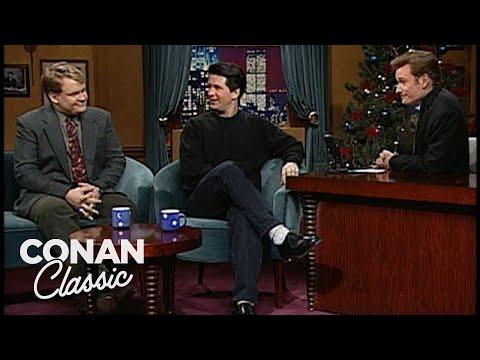 """Alec Baldwin Notices Conan & Andy's Sexual Tension - """"Late Night With Conan O'Brien"""""""