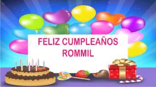 Rommil Happy Birthday Wishes & Mensajes
