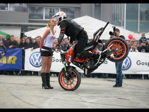 Motorcycle Ktm Stunt Ke Deewane Stunt Show Part 4 Hd Youtube