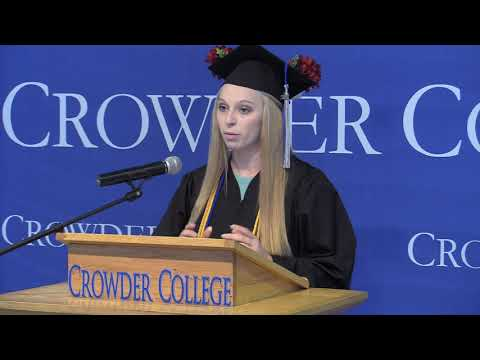 Crowder College Spring 2021 Friday, May 7, Commencement Ceremony
