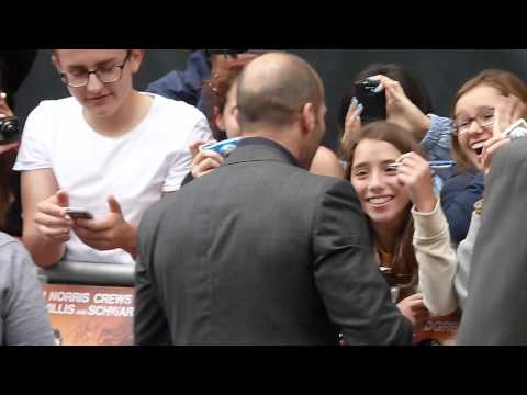 Jason Statham at The Expendables 2 UK Premiere in HD (13.08.12)
