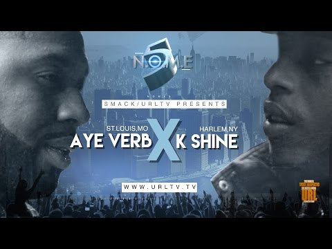 AYEVERB VS K-SHINE SMACK/ URL (OFFICIAL VERSION) | URLTV