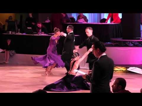Ohio Star Ball 2017 World Pro-Am DS Series Open A Smooth Final (Brittany & Peter)
