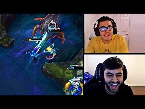 TFBLADE REACTS TO YASSUO | YASSUO TROLLS HIS TEAMMATE | TYLER1 IS NETHANDERALL|LOL MOMENTS