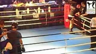 25 Aprile 2013. Andrea De Filippis vs Robert Rebenciuc. Kick Boxing Light