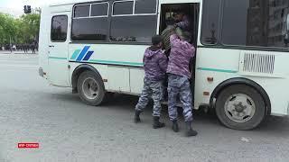 Нұр-Cұлтан полициясы наразыларды қалай ұстады?