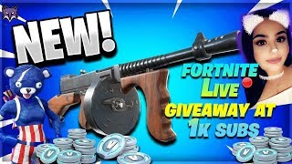 FORTNITE: *NEW DRUM GUN & SKINS* GIVEAWAY AT 1K SUBS // 880 WINS 18K KILLS (Fortnite Battle Royale)